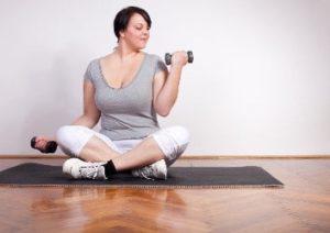 Training mit Übergewicht