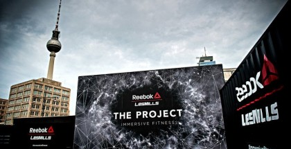 Reebok The Project am Alexanderplatz in Berlin