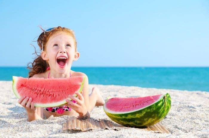 Abnehmen Mit Nur Einem Stuck Wassermelone