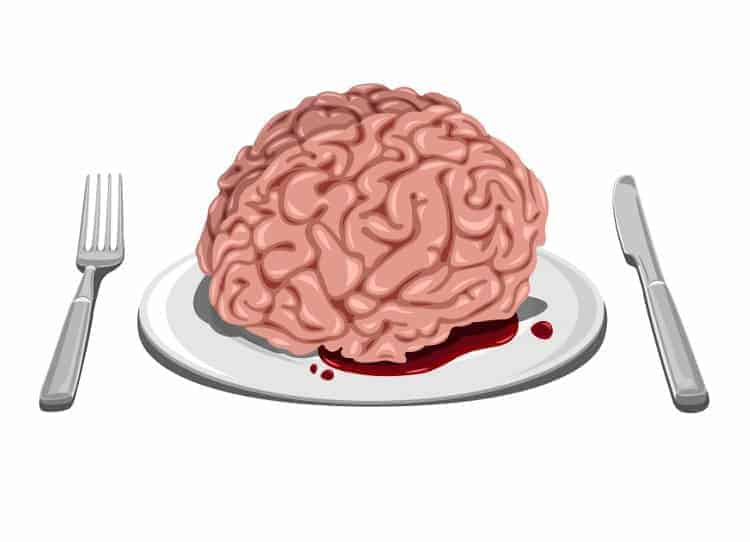 Halloween-Rezept: Blutiges Gehirn (Blumenkohl)