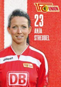 Anja hat die Nummer 23 beim FC Union Berlin