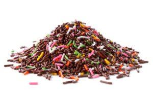 Eine große Anhäufung an Süßigkeiten