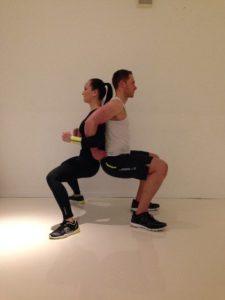 Partner Übung Squats
