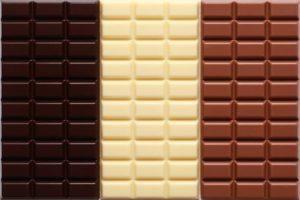 Vollmich dunkle und Weiße Schokolade