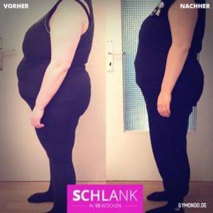 Swantjes Erfolgsgeschichte: 11 Kilo abgenommen.