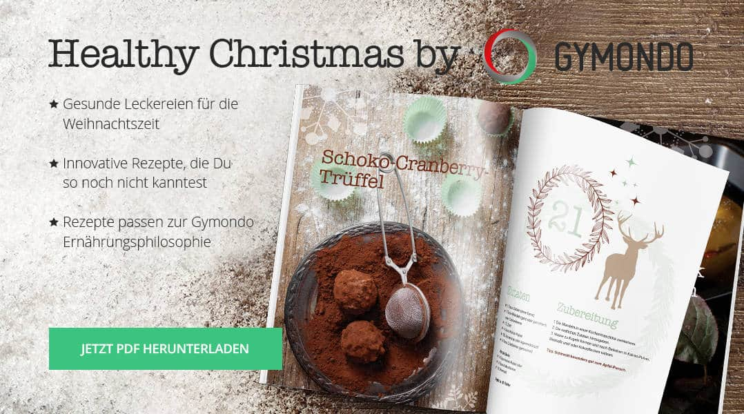 gymondo healthy christmas weihnachtskochbuch download