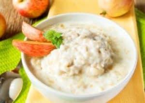 Apfel Zimt Porridge