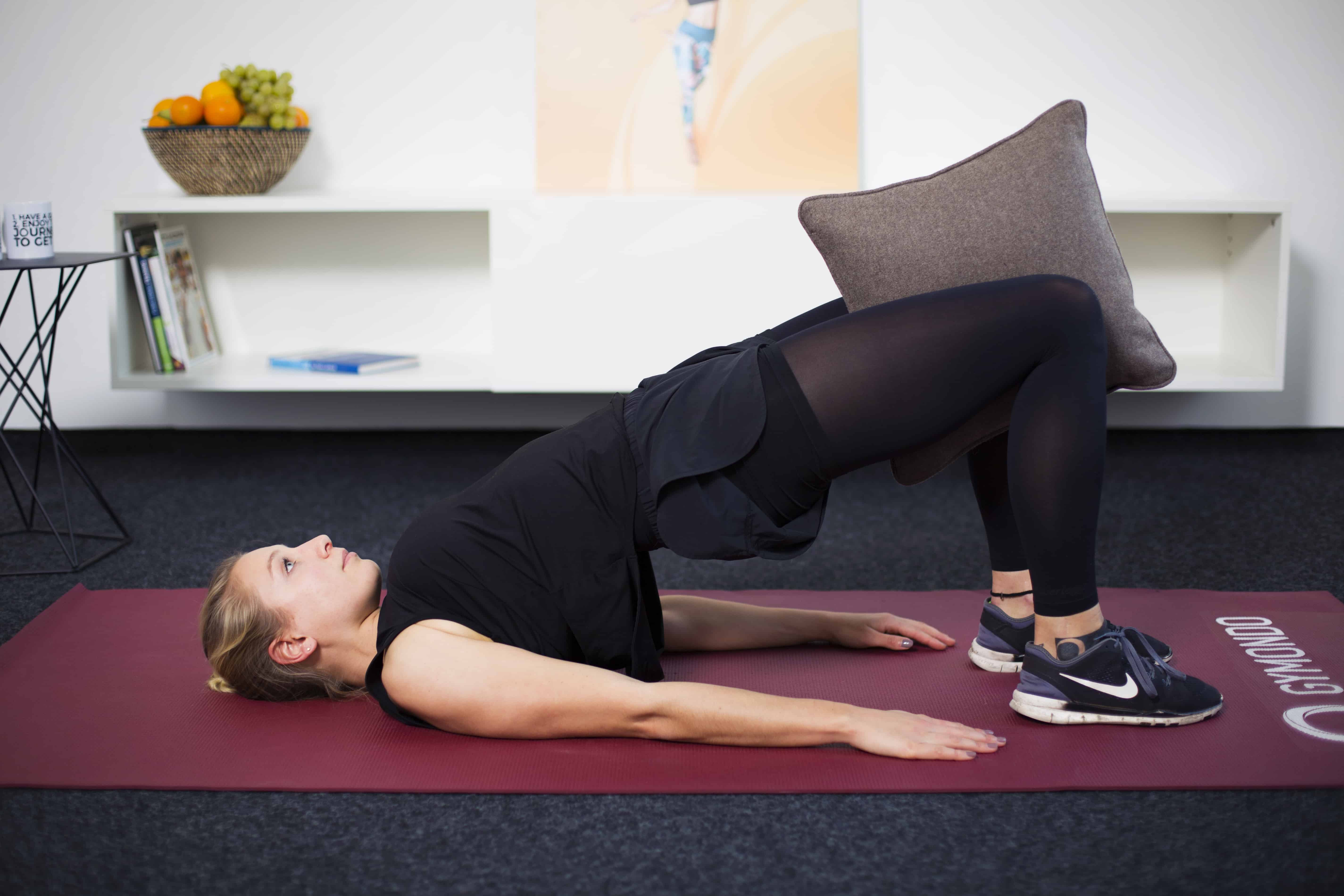 Beckenbodentraining 3 besten Übungen für zu Hause
