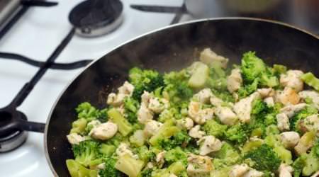 Brokkoli Hähnchen aus dem Wok