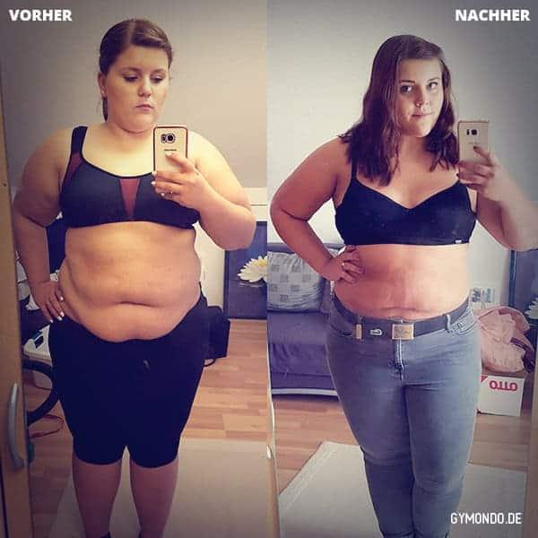 Denise hat es genau richtig gemacht: Mit Ausdauer und Selbstvertrauen hat sie in 3 Monaten 7 Kilo verloren.