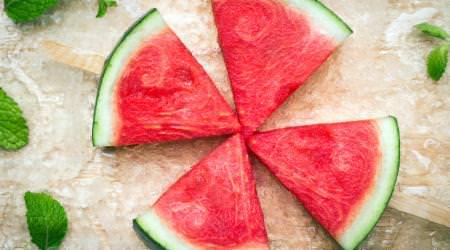 Gefrorene Melone