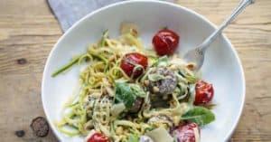 Trend Food Gemüse Pasta