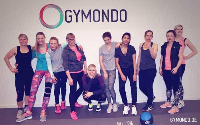 Ohne Fleiß kein Preis: GYMONDO Cheftrainerin Caro heizte den Mädels ordentlich ein!