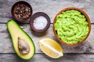 Guacamole als Salat Dressing
