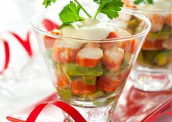 Hähnchen Avocado Salat