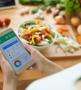 Kalorien zählen mit Apps