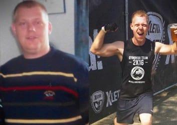 Markus hat mit GYMONDO abgenommen und seinen Körper sichtbar verändert. Heute ist extrem sportlich.