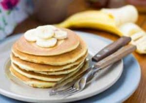 Mehlfreie Bananen Pancakes
