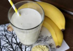 Post Workout Shake Banane