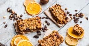 Orangen Cracker sind ein leckerer Pre Workout Snack