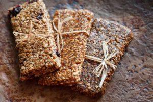 natürliche Proteinriegel aus veganen Zutaten