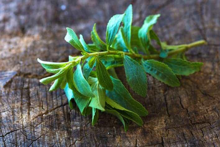 Stevia ist ein Zuckerersatzstoff