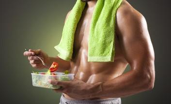 Training und Essen ergänzen sich
