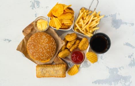 Lebensmittel mit gefährlichen Transfetten