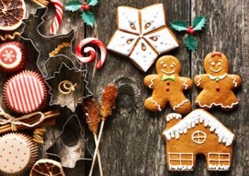 Süßigkeiten zu Weihnachen