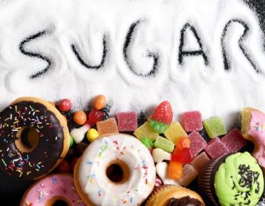 Zucker und Süßigkeiten