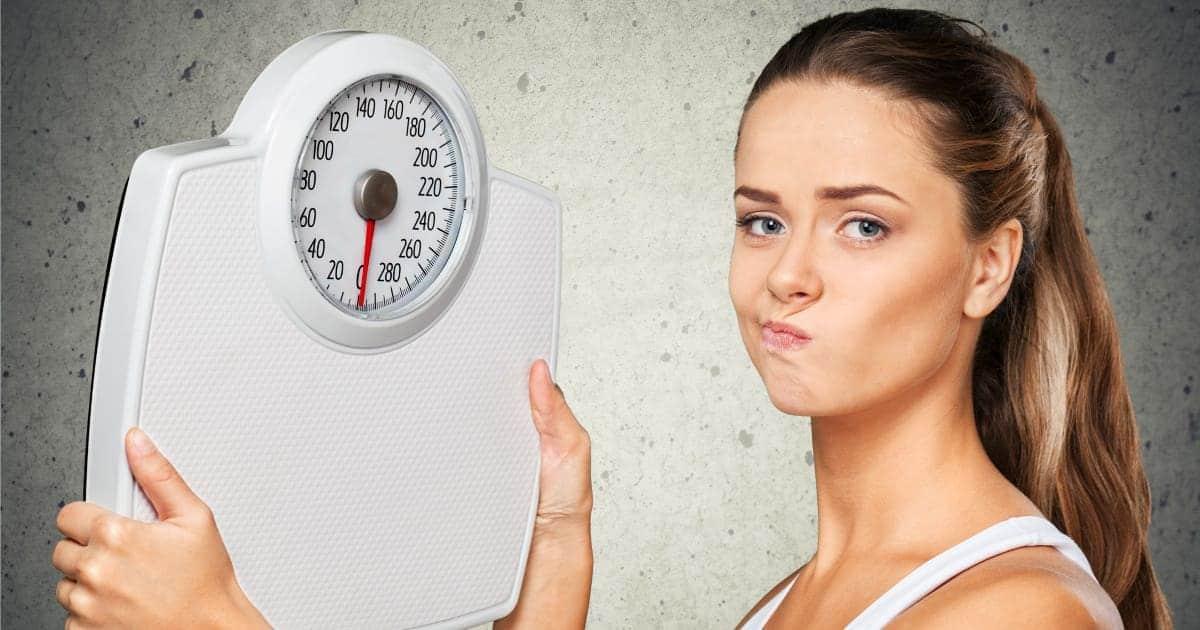 warum stagniert das gewicht beim abnehmen