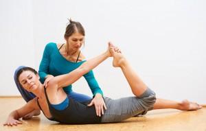 Pilatestraining mit Anja Kursawe