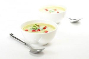 ZWei Schalen ayurvedische Suppe