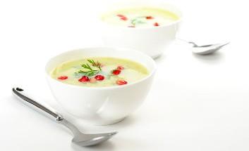 ayurvedische kueche mandel suppe