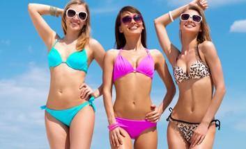 Frauen im Bikini
