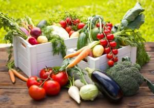 Lebensmittel aus biologischem Anbau