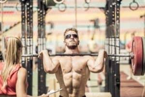 CrossFit Athlet Sebastian im Wettkampf