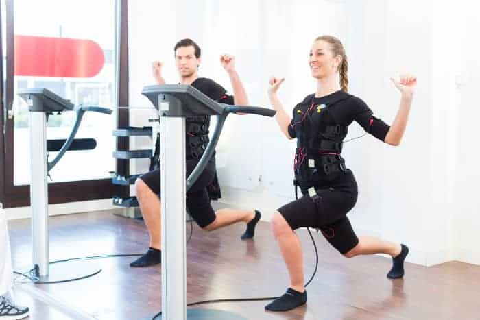 Training mit Elektro-Myo-Stimulation