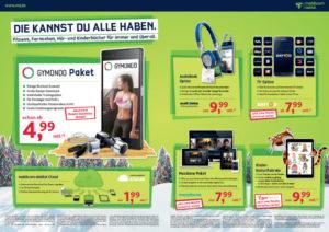 mobilcom-debitel GYMONDO Angebot der laufenden Marketing Kampagne (Bild sichtbar im HTML-Format)