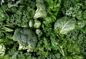 Brokkoli und andere Kohlsorten