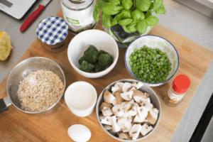 Mit nur wenigen Zutaten kannst Du ein leckeres Gericht zaubern.