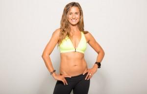 Jennifer Cohen in Sportkleidung