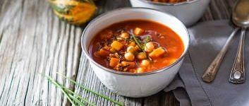 Eintopf Rezept Tomate Kürbis