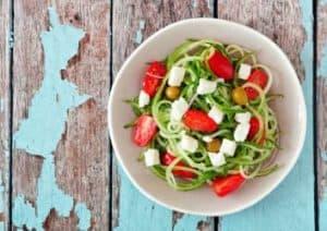 Guenstiger Low Carb Salat