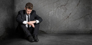 Manager mit Burnout: In die Ecke getrieben