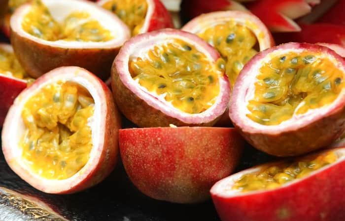 Maracuja Leckere Passionsfrucht Voller Nährstoffe