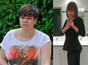 Vorher Nachher Bild von Melanie: Mit GYMONDO hat sie 30 Kilo abgenommen
