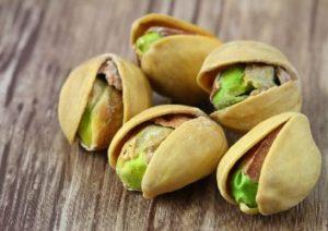 gesunder Snack Pistazien