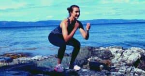 Plyometrisches Workout für die Beine