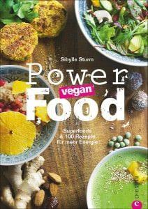 Buchcover: Powerfoods vegan von Sybille Sturm